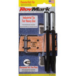 2 Pack with Peg Hole -  Indust-Tip Black