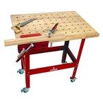 Table Kit - Hard Maple Butcher Block Dog Hole Table (36
