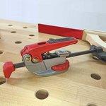 Table Kit Euro - Hard Maple Butcher Block Dog Hole Table (54