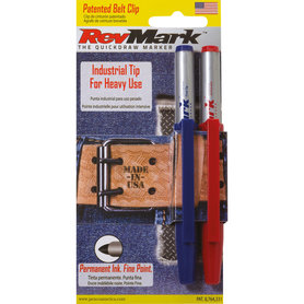 2 Pack with Peg Hole -  Indust-Tip Red/Blue