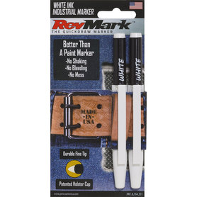 2Pk with Peg Hole - White Ink